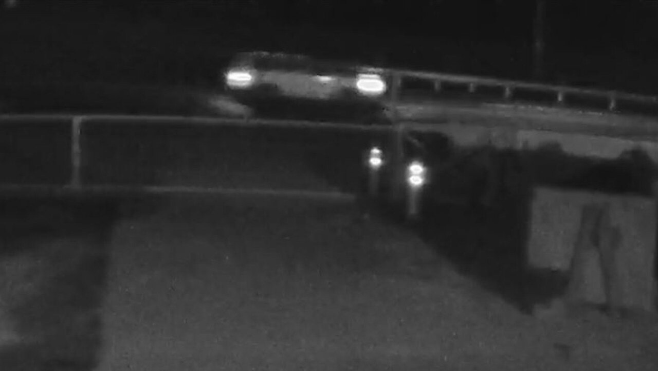 Queensland Police Service has released CCTV of three vehicles which were in the area of Red Rover Rd on the night of a fatal hit-and-run.