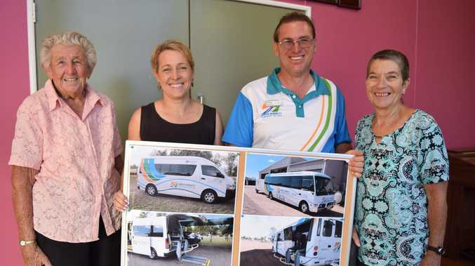 Oldies appreciate support of bus drivers