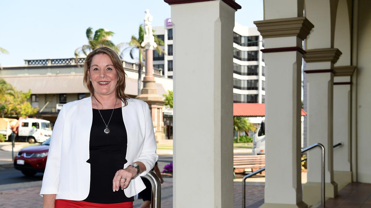 Councillor and mayoral candidate Helen Blackburn in the Bundaberg CBD.