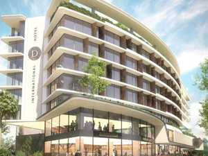 Owners keep tight-lipped on major hotel build