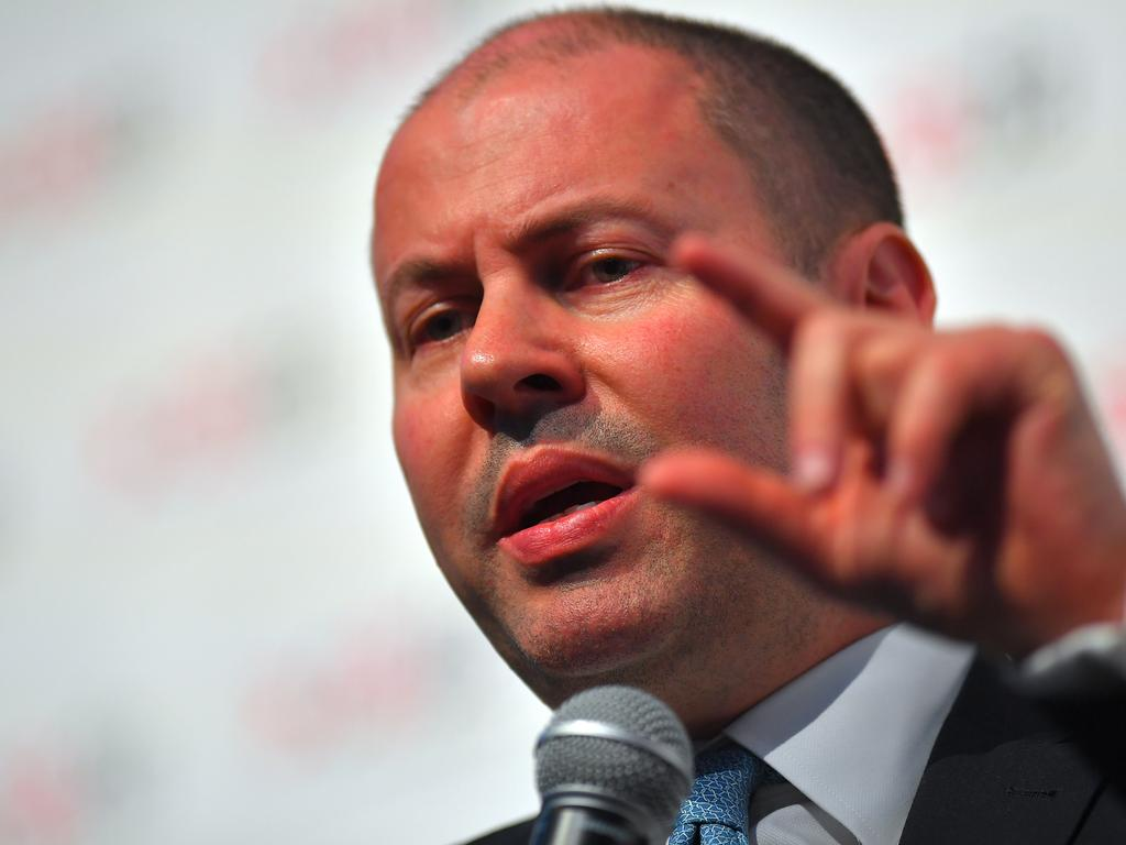Federal Treasurer Josh Frydenberg is hellbent on delivering a surplus but refuses to properly tax our richest generation. Picture: AAP Image/Steven Saphore