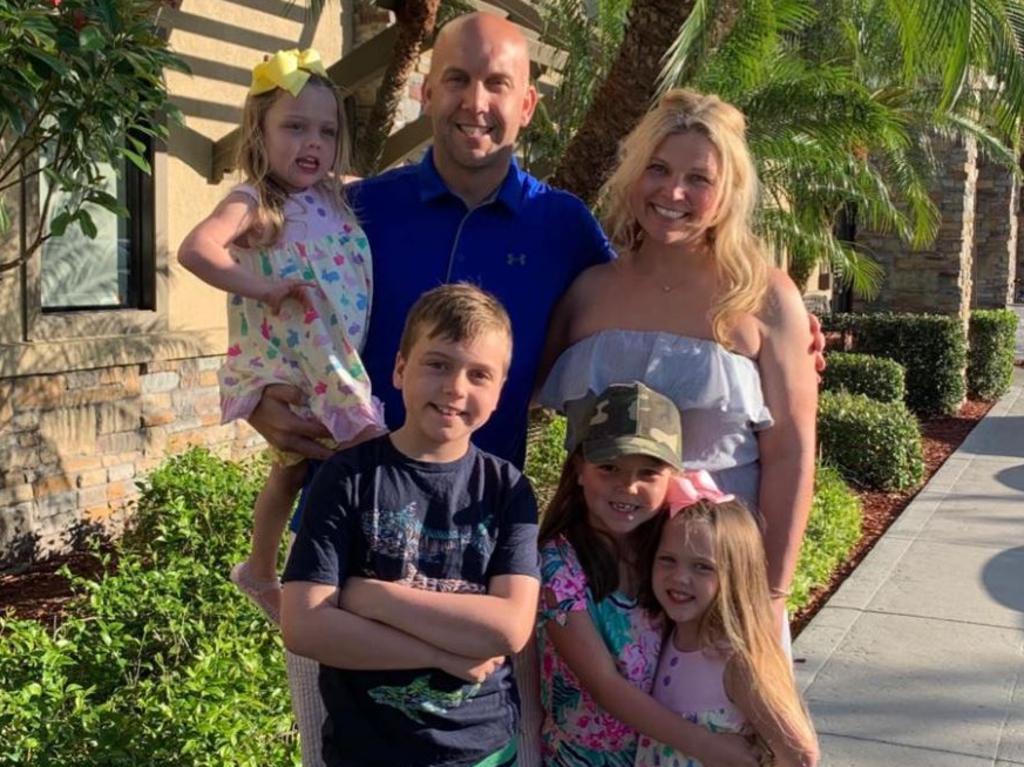 The Geiselman family was on holiday at Disney World, Florida.