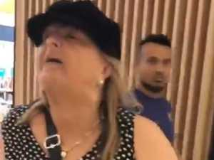 WATCH: Woman's 'sick, racist' shopping centre rant