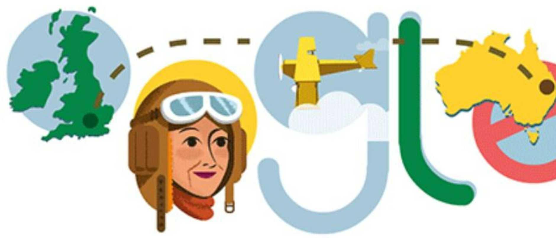 Google Doodle celebrates Maude 'Lores' Bonney's 122nd birthday.