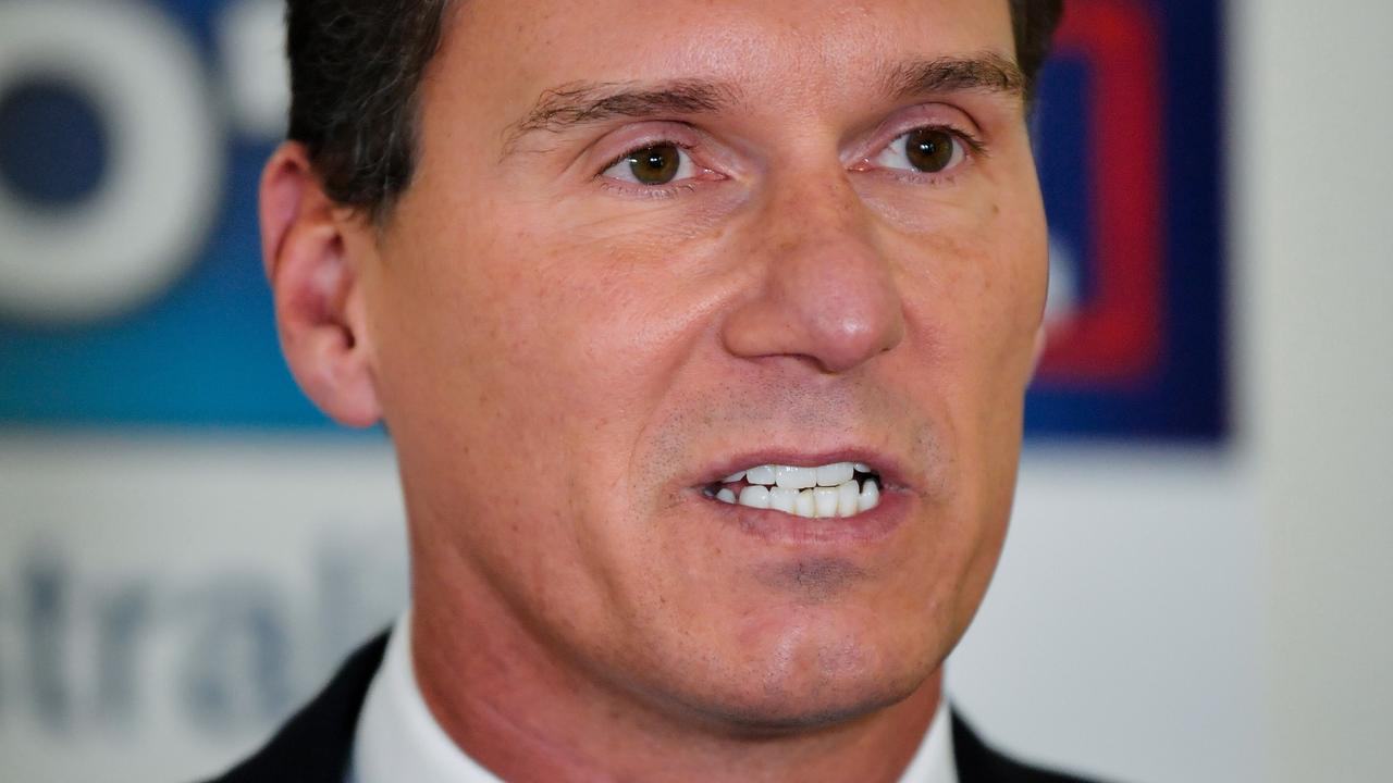 Senator Cory Bernardi has called time on his political career. Picture: Morgan Sette/AAP