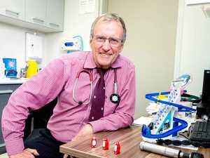 Doctor hangs up stethoscope after 43 years