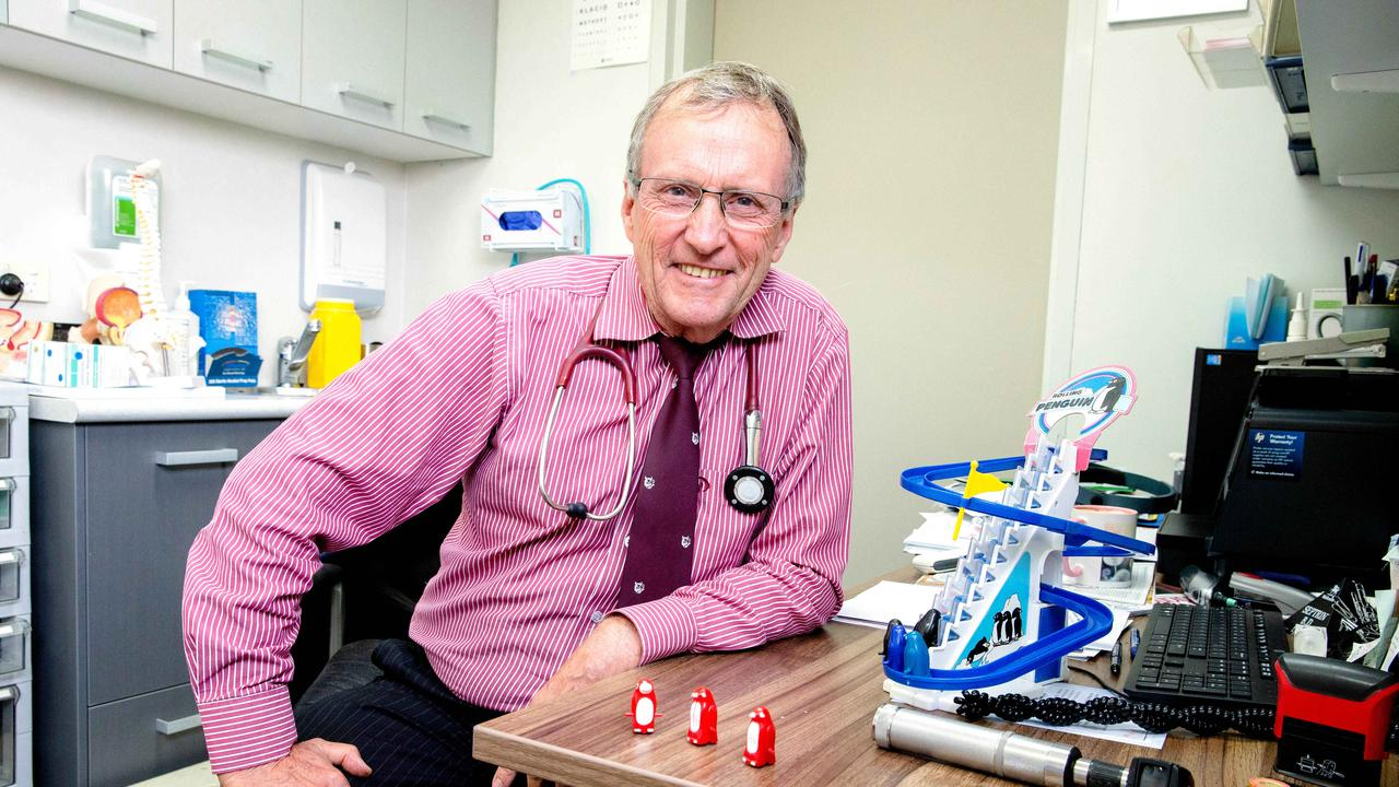 Popular and iconic medico Garry Buchan-Hepburn retires.