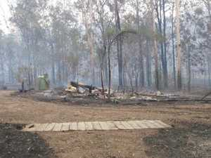 BEFORE AND AFTER: Photos reveal Nymboida bushfire devastation