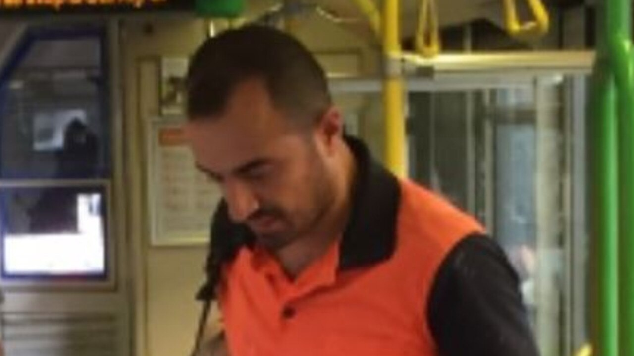 Police are searching for a man accused of committing a series of sickening sexual assaults against women on packed Melbourne trams.