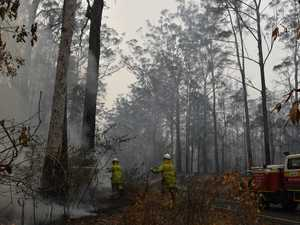 BUSHFIRE: Ravensbourne fire contained, threat remains