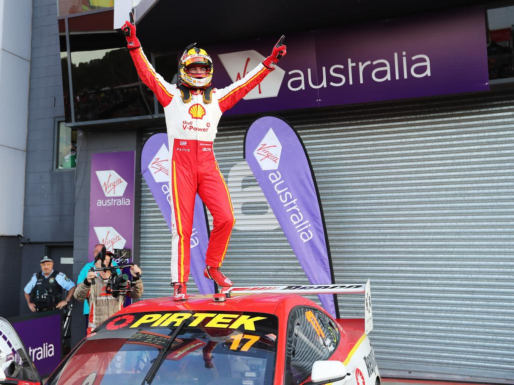 McLaughlin had his Bathurst lap record taken off him. Picture: Rohan Kelly