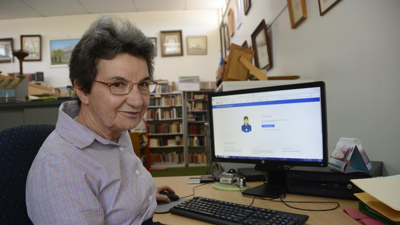 Toowoomba resident Gabrielle Saide is a tech-savvy senior but still fell victim to online scammers who stole $9000 from her bank account.
