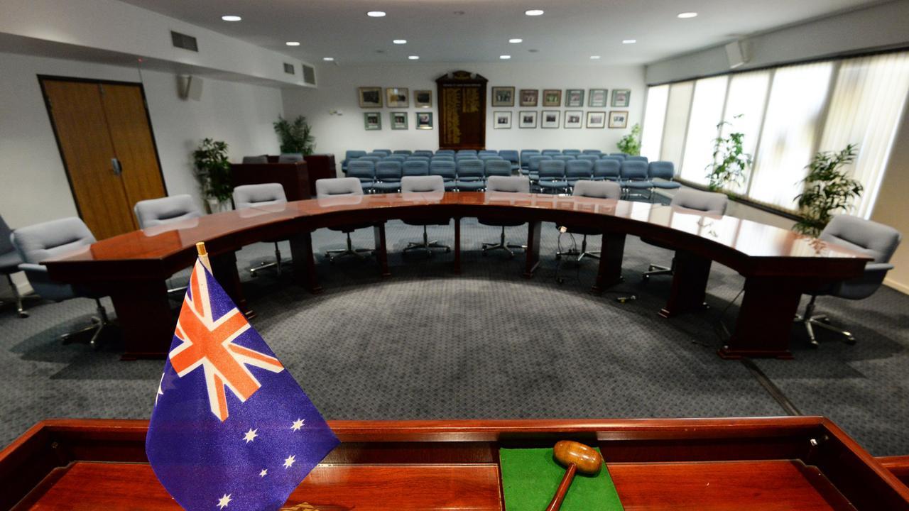 The Bundaberg Council Chambers.