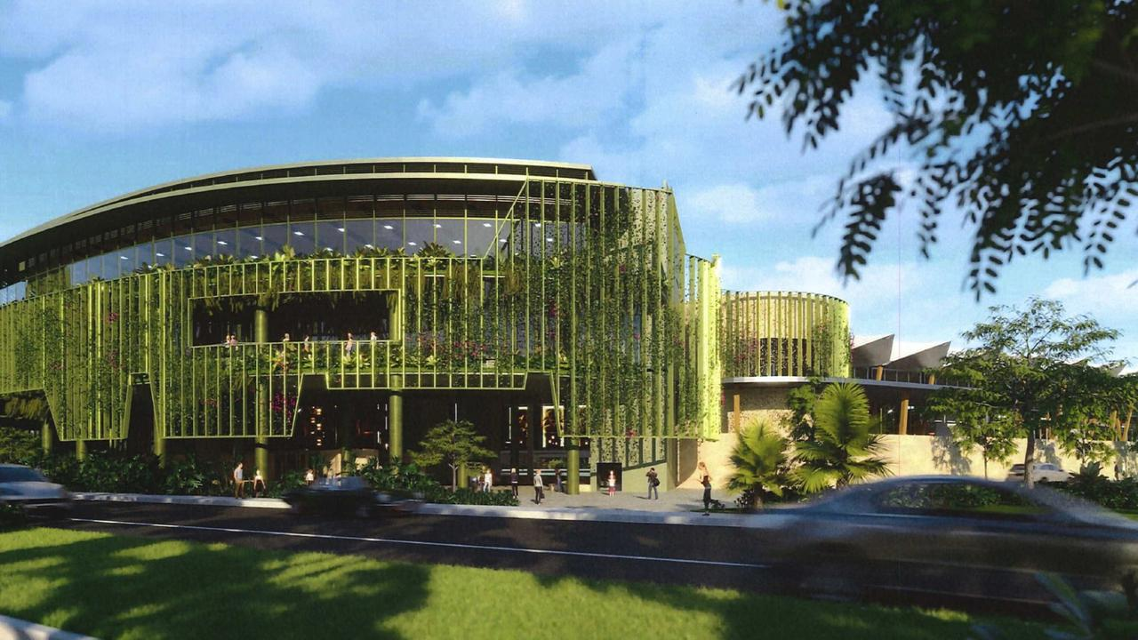Artist impression of the Cairns Convention Centre upgrade and extension. PICTURE: SUPPLIED
