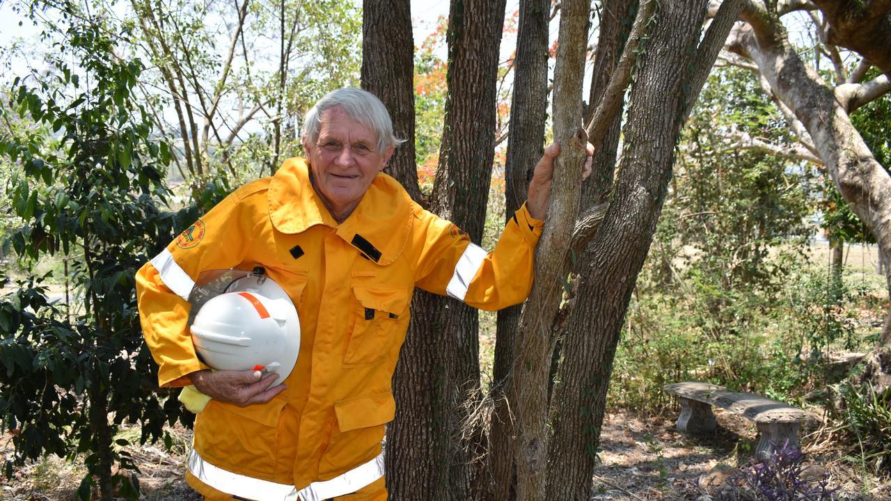 David Flower has spent six decades fighting fires across Australia.