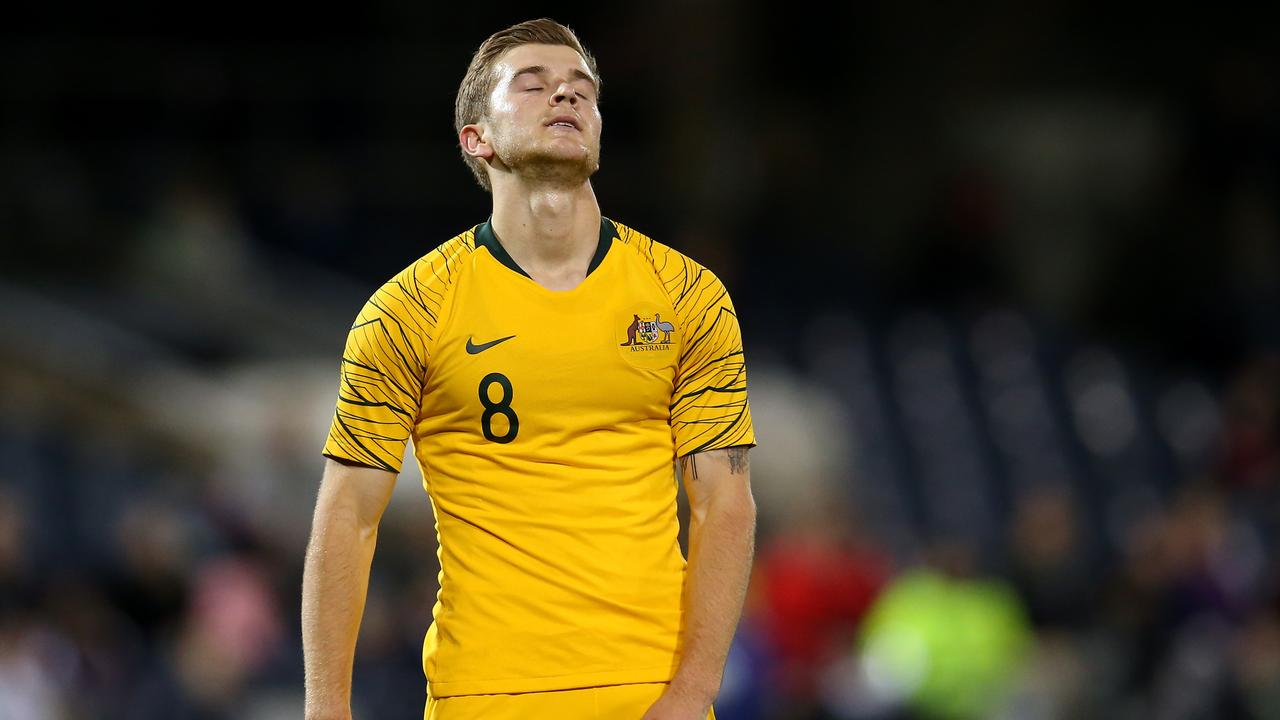 Riley McGree was one of four players banned.