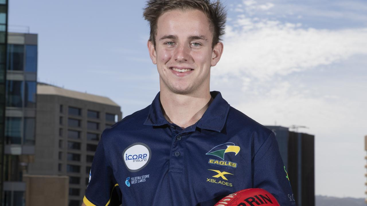 Jackson Mead is the son of former Port Adelaide player Darren Mead. Picture: Simon Cross