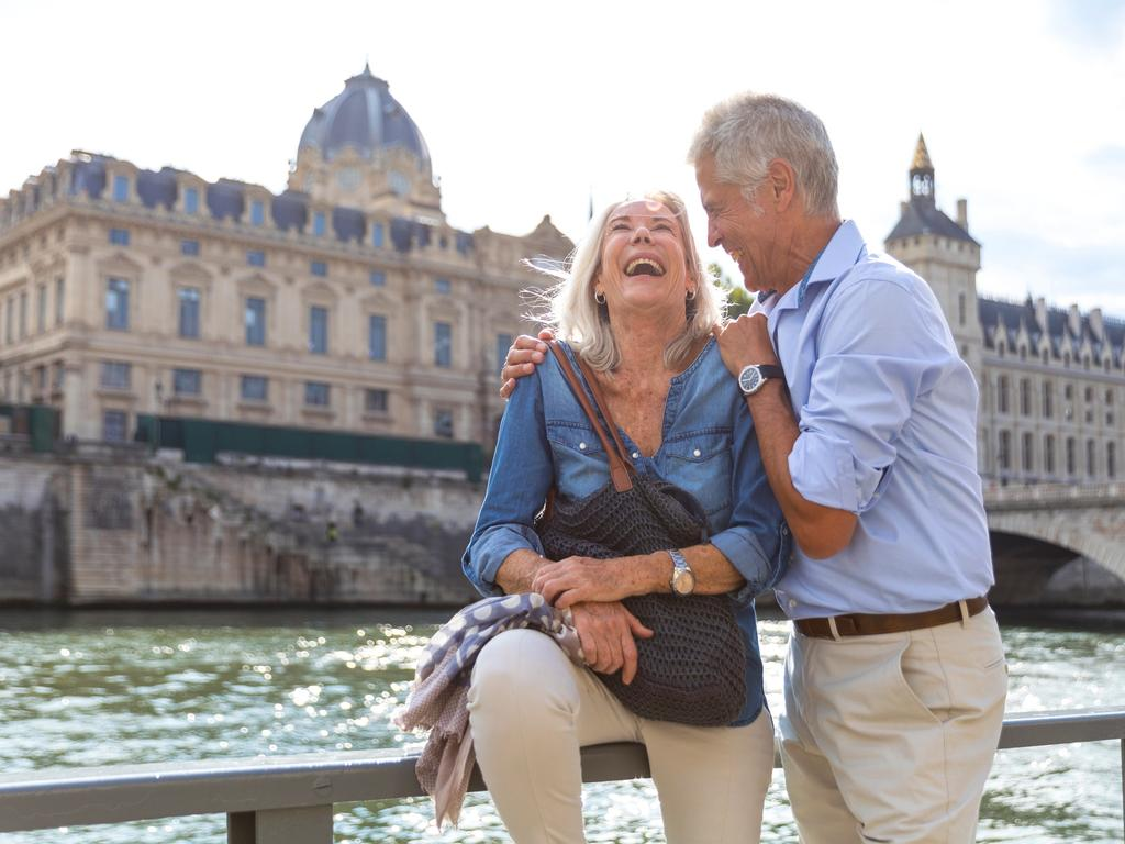 Facebook is full of pictures of Boomers spending their vast personal wealth in exotic locations. Picture: iStock