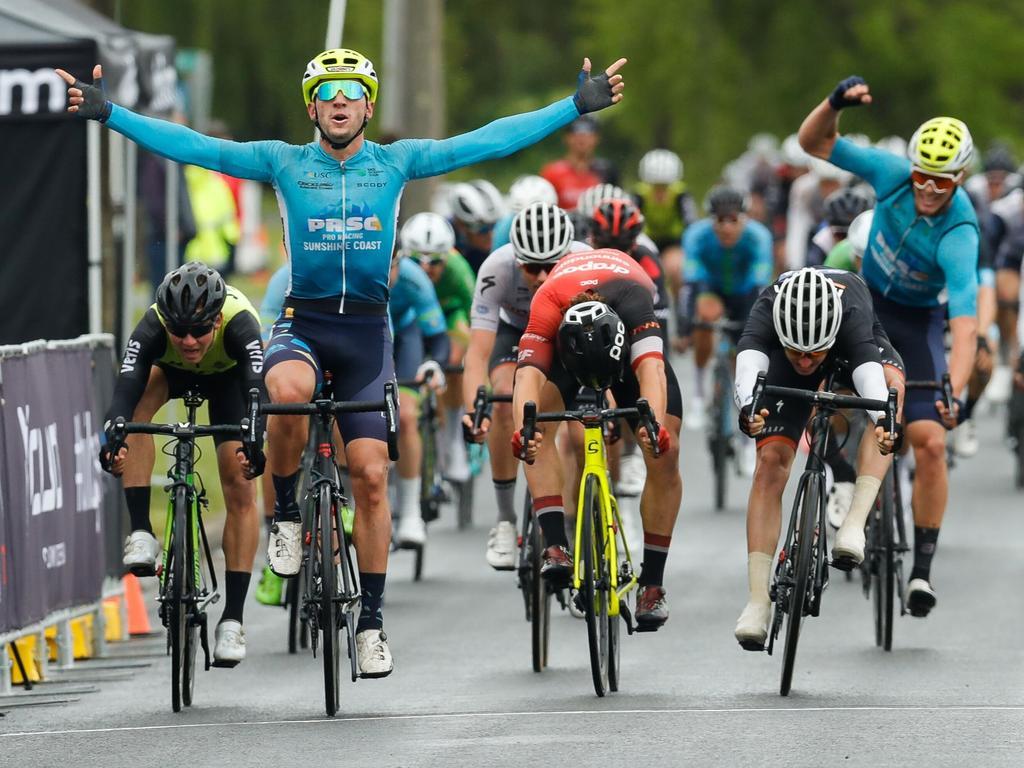 WINNER: Matt Rice has enjoyed a breakout season on the international circuit.