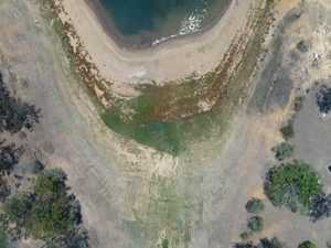 Wivenhoe Dam from the air