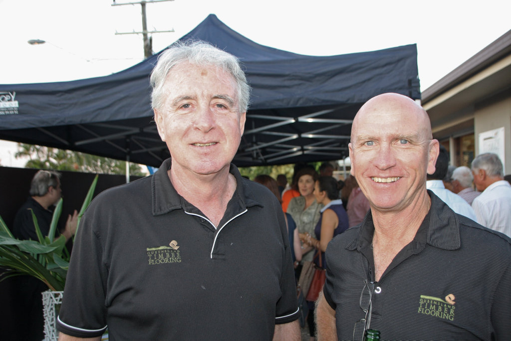 Mark Mccafferty And Robert Crick Of Queensland Timber