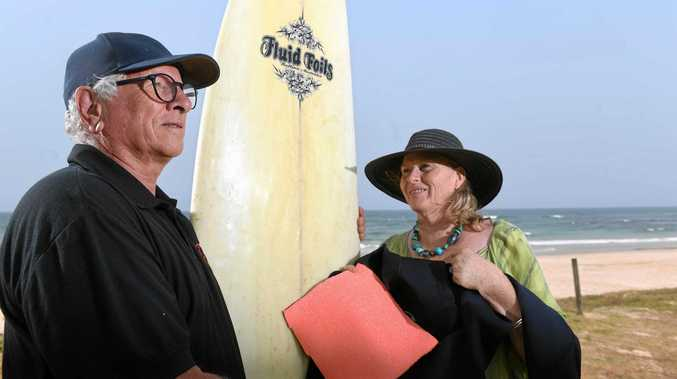 Lennox surfer invents new shark-proof wetsuit
