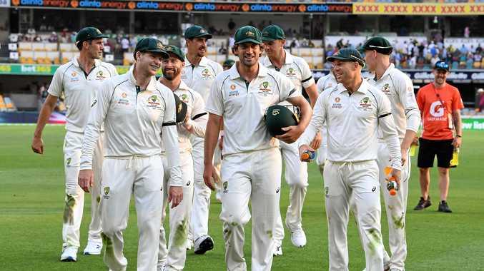 Aussies take control at the Gabba