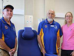 Roaring success as Lions donation continues to help hospital