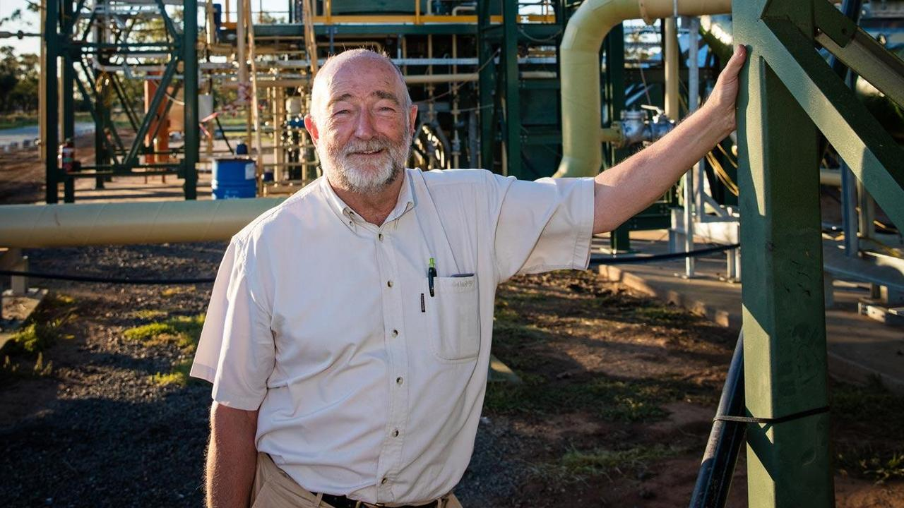 Trevor Bayley, the chief operating officer of tyre recycler Green Distillation Technologies, at its plant in NSW.