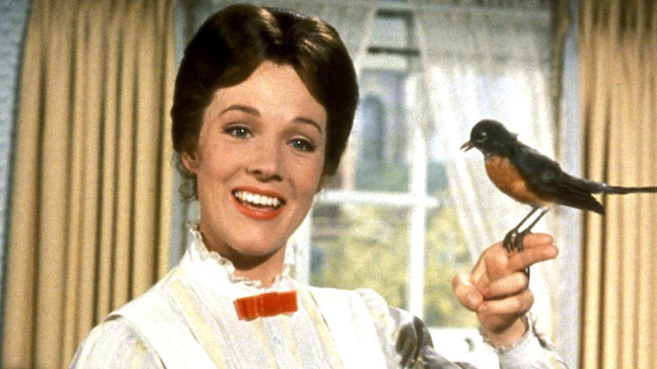 We can imagine the set of the orgy scene was very different from Mary Poppins. Picture: Supplied.