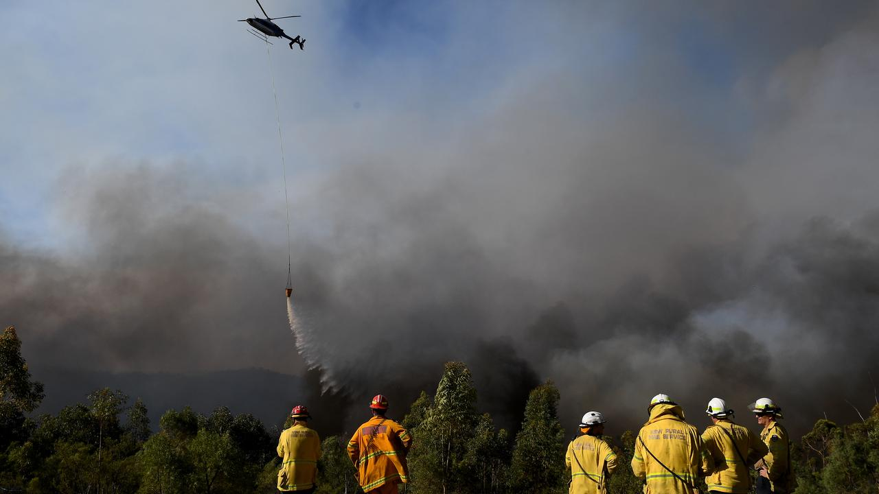 AID: Donated water is being used for firefighting