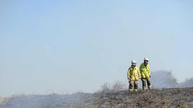 PREPARE TO LEAVE: Cinnabar fire fast moving, unpredictable