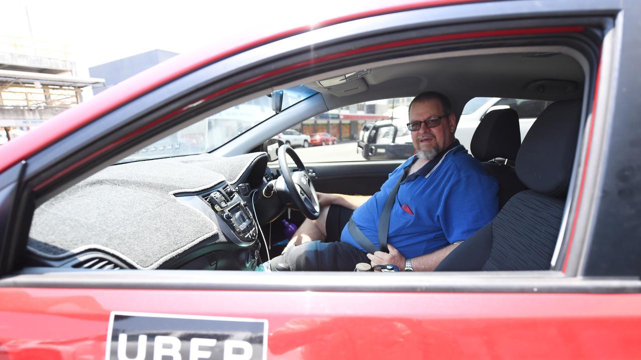 Uber driver Tom Bundesen.