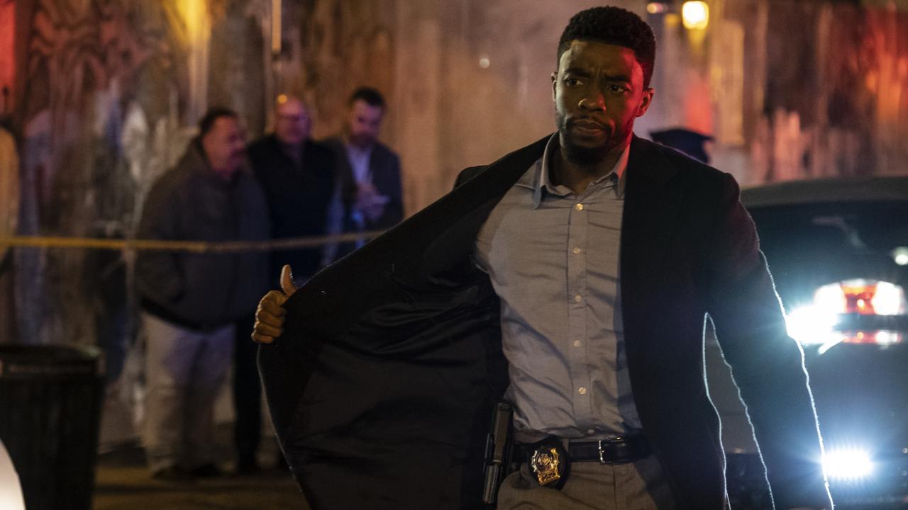 Chadwick Boseman stars as Andre Davis in 21 Bridges. Picture: Roadshow Films.