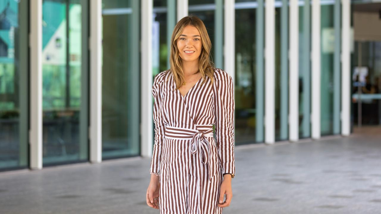 QUT student Monique Edser is heading to China as part of the Huawei Seeds for the Future program.