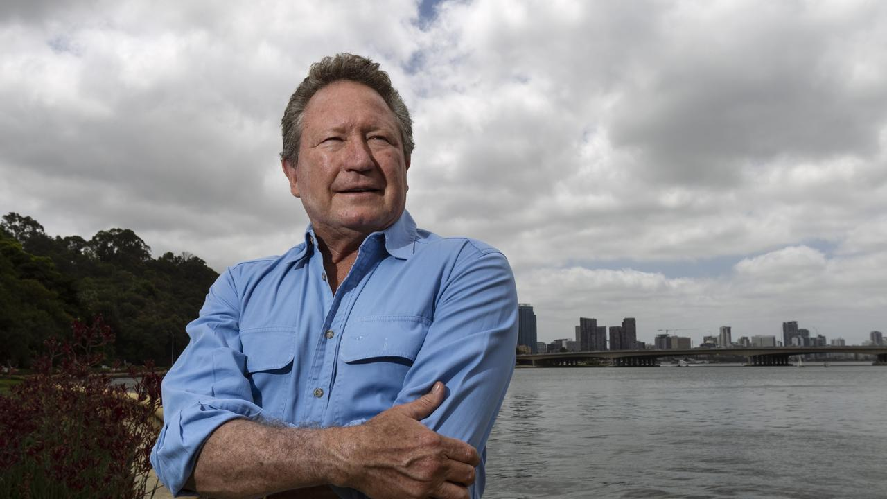 Andrew Forrest made billions off mining and now thinks renewable energy could be key to the future health of Australia's economy. Photo: Marie Nirme