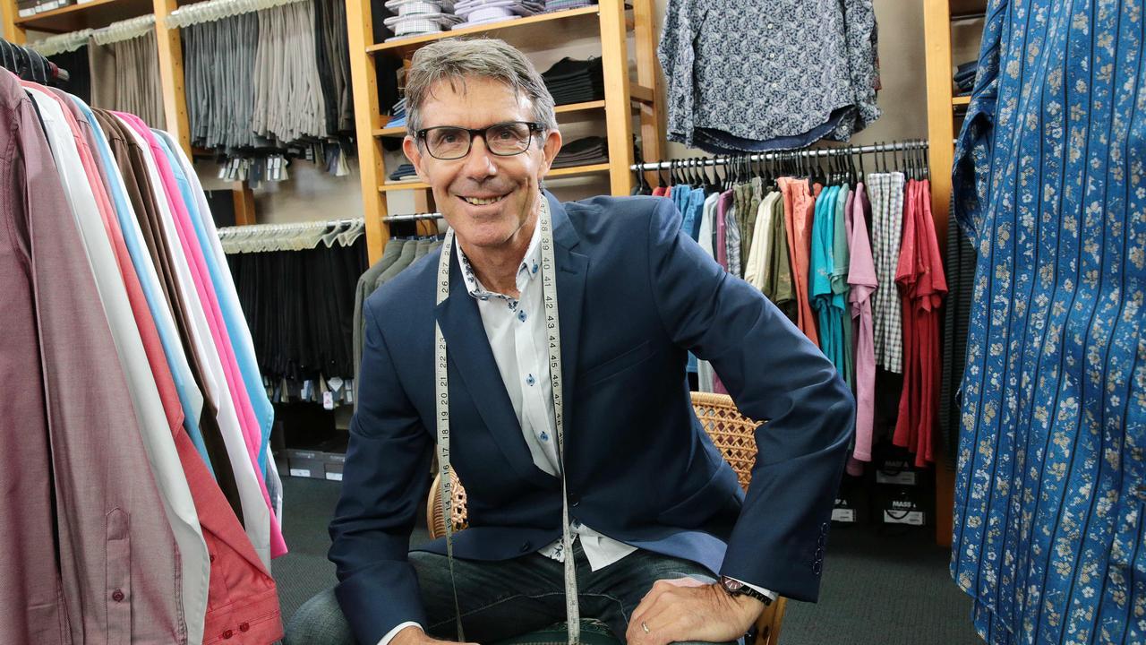 DBS Menswear owner Peter Hellen. Picture: Peter Cronin