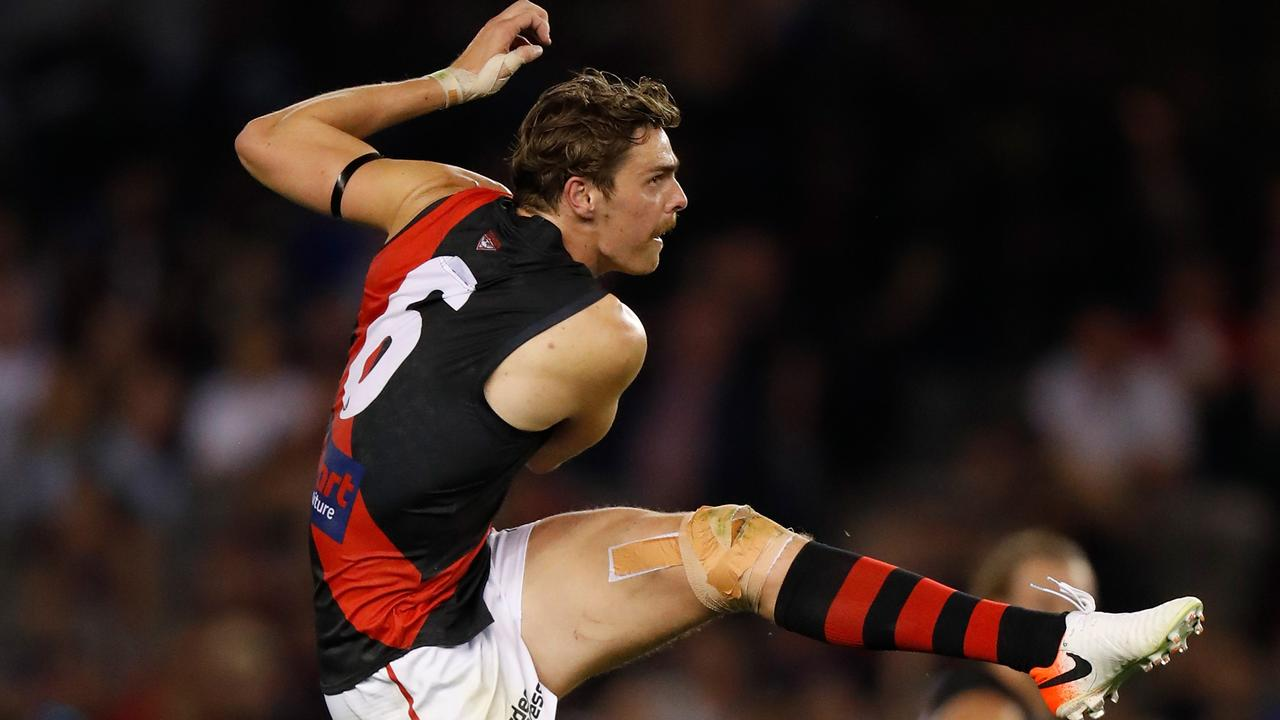 In full flight, Daniher is among the best forwards in the game. Picture: AFL Photos
