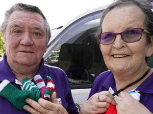 Christmas delivery for those doing it tough