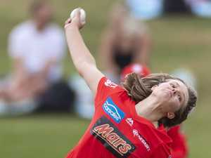 RISING RENEGADE: Leeson relishing role with WBBL side