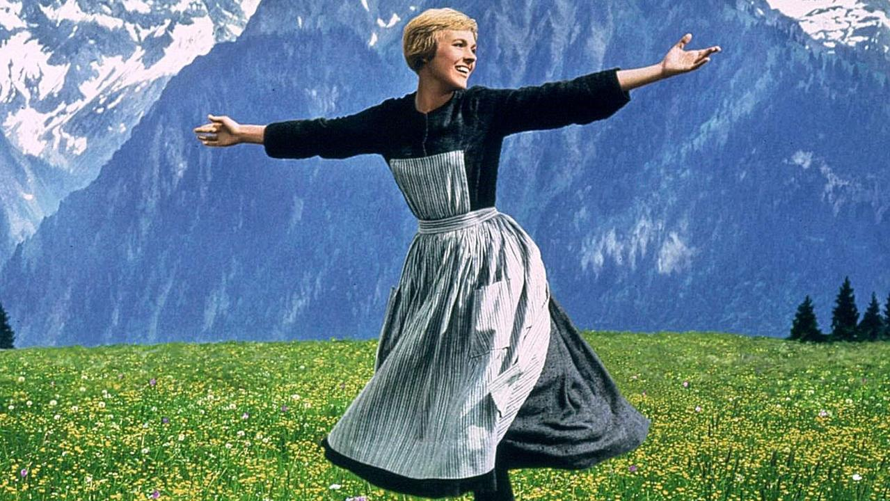 Andrews recalls working in Hollywood in the 70s – years after The Sound of Music. Picture: Supplied.