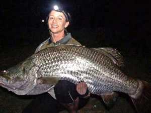 Mackay's dams are fishing big, really big