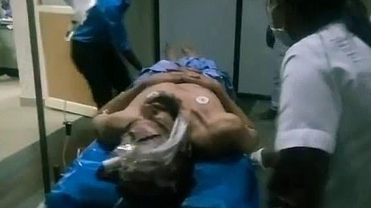 William K James who was beaten in India. Picture: Instagram/@justkannada