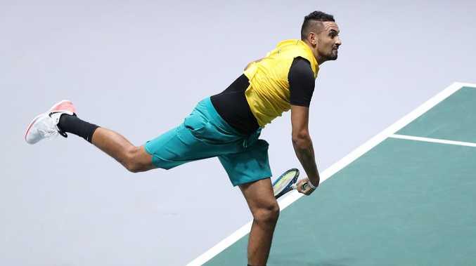 'Extraordinary' Kyrgios maintains the rage