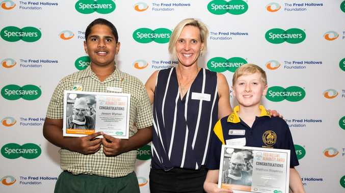 Maranoa boys' incredible kindness recognised with Humanity Award