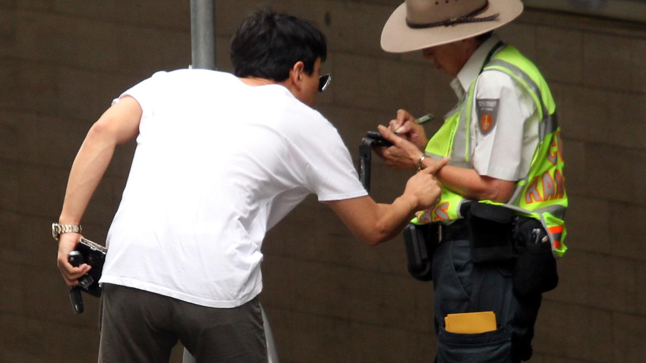 Rangers regularly cop abuse from members of the public.