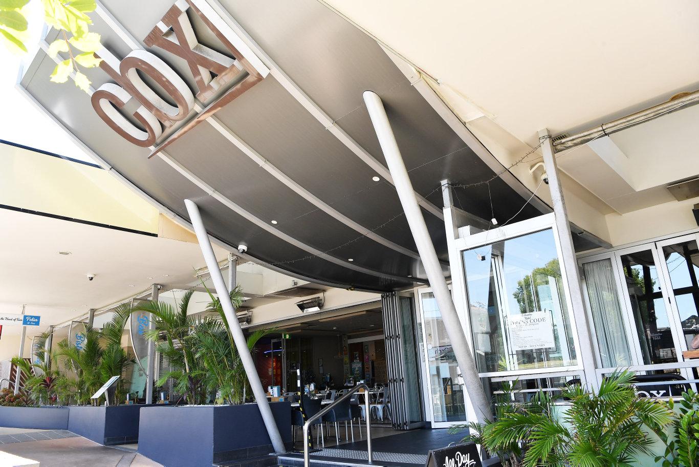 Caloundra's CBX Hotel, Bullcock Street. Photo Patrick Woods / Sunshine Coast Daily.