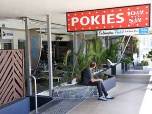 Manhunt continues for pokie room bandits