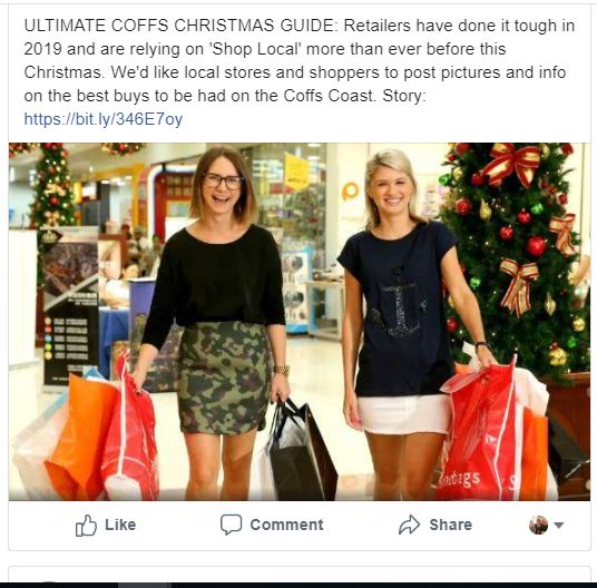 Add photos, products and prices below our Facebook page to help us build a guide to Shopping Local this Christmas.