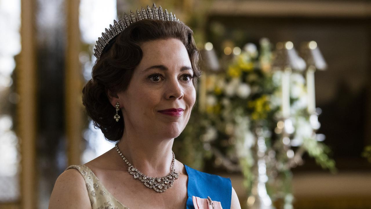 Olivia Colman as Queen Elizabeth II in a scene from the third season of The Crown. Picture: Sophie Mutevelian/Netflix via AP
